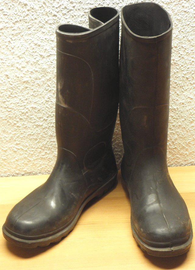 beste Qualität für günstigster Preis auf Füßen Bilder von Bundeswehr Gummistiefel mit Stahlkappe, schwarz, neuwertig