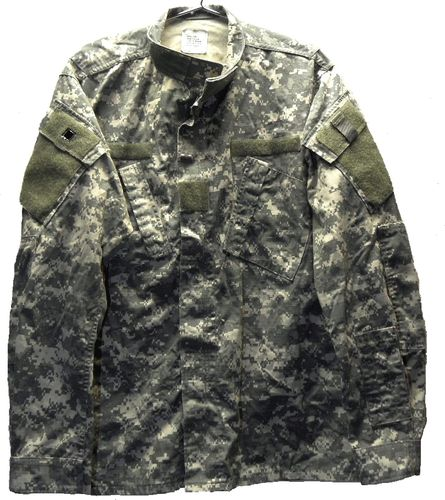 US ACU Feldjacke, AT-Digital, 50/50, gebraucht