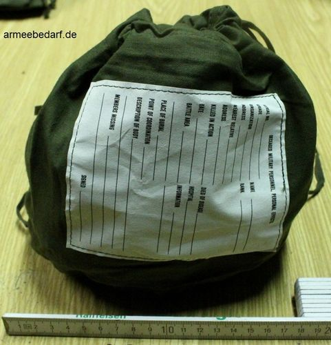 US Personal Effects Bag, ungebraucht