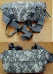 US Waist Pack in AT-digital (UCP), ungebraucht